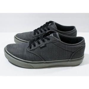 Vans Grey Atwood Sneakers w/ Grey Rubber